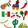 Mexican Party - Stock Vector