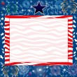 July 4th Background — Stock Vector