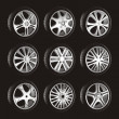 Automotive wheel - Image vectorielle