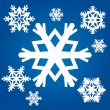 Royalty-Free Stock Vector Image: Snowflakes