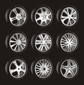 Automotive wheel — Vecteur