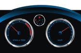 Dashboard car — Stock Vector