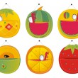 Homemade hanging pocket for children's clothes  — Imagen vectorial