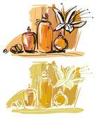 Aromaterapi — Stok Vektör