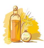 Aromatherapy — Stock Vector