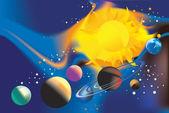 Universe — Stock Vector