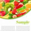 Fruit mix — Stock Photo #5493489