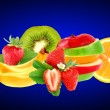 Fruit mix — Stock Photo #5507134
