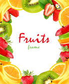 Fruits frame — Stock Photo