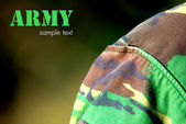 Camouflage-armee — Stockfoto