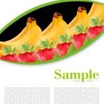 Fruit mix — Stock Photo #5660837