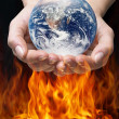 Royalty-Free Stock Photo: Hot earth