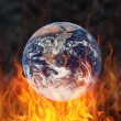 Stock Photo: Hot earth