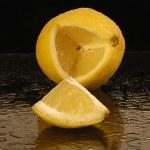 Lemon wedges — Stock Photo #6742931