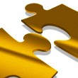 Puzzle gold — Stock Photo #6745533