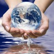 World ocean water - Stock Photo