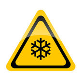 Snow threat — Stock Photo
