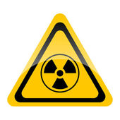 Nuclear symbol — Stock Photo