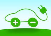 Electric vehicle — Stock Photo