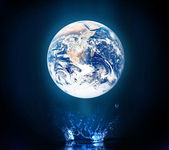 Blue world — Stock Photo