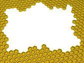 Honey 3d — Stock Photo
