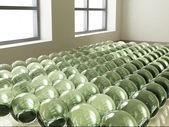 3d ball room — Stock Photo