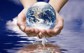 World ocean water — Stock Photo