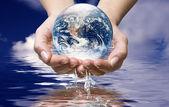 World ocean water — Stock Photo