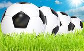 Fotboll spel konst — Stockfoto