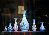 Blue vases — Stock Photo