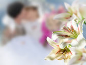 Flowers wedding — Stock Photo