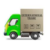Internatinal trade — Stock Photo