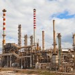 Oil refinery petrochemical industry — Stock Photo #5575738
