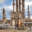 Oil refinery petrochemical industry — Stock Photo #5575740