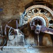 Old rusty vintage industrial machinery — Stock Photo