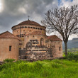Medieval church Italy sardinia - Stock Photo