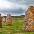 Menhir sardinia megalith stone — Stock Photo