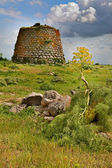 Nuraghe tower sardinia Italy — Stock Photo