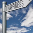 Road to happiness — Stock Photo