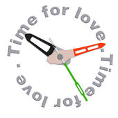 Time for love — Stock Photo