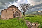 Medieval church Italy sardinia — Stock Photo