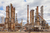 Olja raffinaderiet petrokemisk industri — Stockfoto