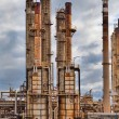 Oil refinery petrochemical industry — Stock Photo #6399672