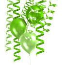 3d glänzend ballons — Stockfoto