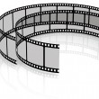 3d Cine-film — Stock Photo