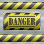Danger sign — Stock Vector #5815656