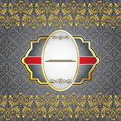 复古黄金背景 — 图库矢量图片