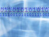 Binary numbers background — Stock Photo