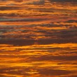 Orange and gold sky — Stock Photo