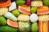 Exotisk frukt — Stockfoto